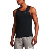 NIKE As M Nk Miler Tank - Black/Black