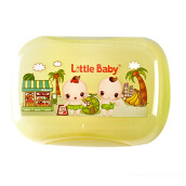 LITTLE BABY Soap Container 504 - Yellow