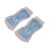 [Kingstore]Comfort Durable Yoga Pilates Socks Half Toe Ankle Grip Five Finger No-Slip 1Pair