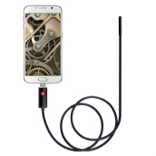 New 2M Length 7mm Video Camera 6 LEDs USB Waterproof Endoscope For Android