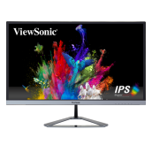 ViewSonic 24 inch IPS Monitor VX2476-smhd