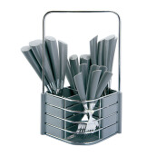 NAKAMI Stainless Steel Cutlery 25pcs - Gray