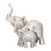 VIVERE Object Deco Dumbo Duoparsley - Silver / 23X13X24Cm