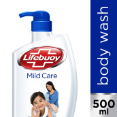 LIFEBUOY Body Wash Mild Care 500ml