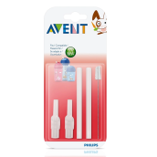 AVENT SCF764/00 Replacement Silicone Straws + Brush
