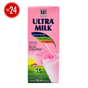 ULTRA Milk Strawberry Carton 250ml x 24pcs