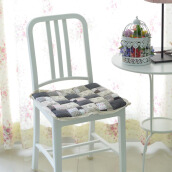 VINTAGE STORY Shabby ChairPad Midnight Blue