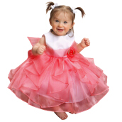 Layered Organza Ruffle Dress Baby Girl Dress For Party