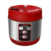 YONG MA Digital Rice Cooker 2 L YMC114  - Merah
