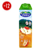 COUNTRY CHOICE Apple Carton 1L x 12pcs