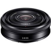 SONY SEL20F28 E 20mm f/2.8 Black