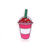 PATCH.INC Glass Pink 7x4 cm