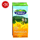 COUNTRY CHOICE Mango Carton 250ml x 24pcs