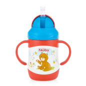 NUBY Twin Handle Stainless Bear - 220ml