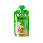 PEACHY Puree Apple, Spinach & Sweet Potato Pouch - 110gr