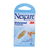 3M NEXCARE Bandages Waterproof Transparent isi 3 pack( 1 pack isi 3 plaster)