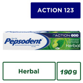 PEPSODENT Action 123 Pasta Gigi Herbal 190gr