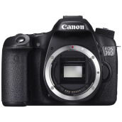 Canon EOS 70D Body Only + Free LCD Screen Guard Black