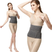 MAMAWAY Extra Strength Bamboo Tunic Post Natal Corset - Gray