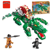 ENLIGHTEN D1504 Toy  Compatible with LEGO blocks for 6 years old kid 538pcs blocks