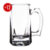 LIBBEY Stein Mug set of 12 296ML - 5205