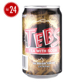 TEBS Teh Soda Can Carton 330ml x 24pcs