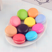 BESSKY Simulation Macaron Food Squishy Super Slow Rising Kid Toy Decompression Toys Multicolor