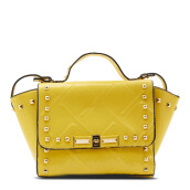 NEW COLLECTION Studded tote bag - Yellow