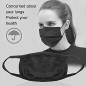 Unisex Mens Womens Cycling Anti-Dust Cotton Mouth Face Mask Respirator