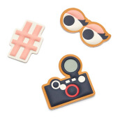 FOSSIL Gift Sticker Curious Girl Sticker Set Camera Hastag Eyes Ladies [SL7100-998]