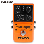 NUX Time Core Deluxe Multi Guitar Effect Pedal True Bypass