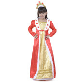 HOUSE OF COSTUMES Red Heart Princess G-0224 - Red