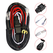 Relay Switch Control Wiring Harness Black