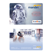 MANDIRI E-Money Star Wars: The Last Jedi - Robots