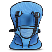 Breathable Pushchair Car Seat Babies Stroller Thick Cushion-Blue