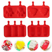 DIY Silicone Ice Cream Mold Dessert Tool