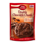 BETTY CROCKER Cookies Pouches Double Chocolate 496g