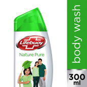 LIFEBUOY Body Wash Nature Pure 300ml