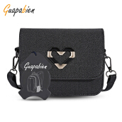 Guapabien Heart Inlay Mini Women Shoulder Crossbody Bag