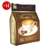 JJ ROYAL Kopi Tubruk Hazelnut Latte Bulk Bag 14pcs x 27gr
