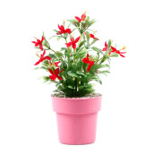 KOKOJI Flower Arrangements with Vase - Red/KKJ-0317-23 JD
