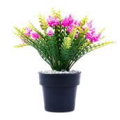 KOKOJI Flower Arrangements with Vase - Purple/KKJ-0317-26 JD