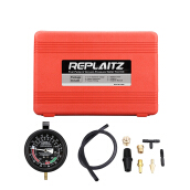REPLAITZ Fuel Pump Vacuum Tester Gauge Red