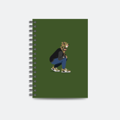 PAWPERSOME - Bape Freaks Notebook Grey