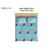 PILLOW PEOPLE Bed Sheet Set - Frozen Winter Magic / 120x200cm