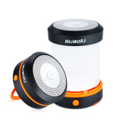 Suaoki Camping LED Lantern Collapsible Light Mini Flashlight Torch Light Water Resistance