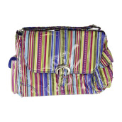 KALENCOM Buckle Bag Cobalt Stripes