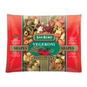 SAN REMO Pasta Vegeroni 3 Color #121 375g