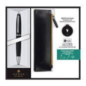 CROSS Calais Satin Black Ball Pen (AT0112-14/1)