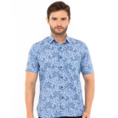 SALT N PEPPER Mens Short Sleeve SNP 213 - Blue